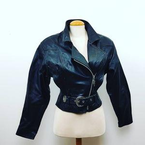 HARLEY DAVIDSON | Black Studded Ladies Jacket XS